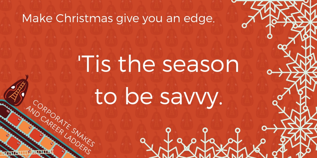 its the season to be savvy