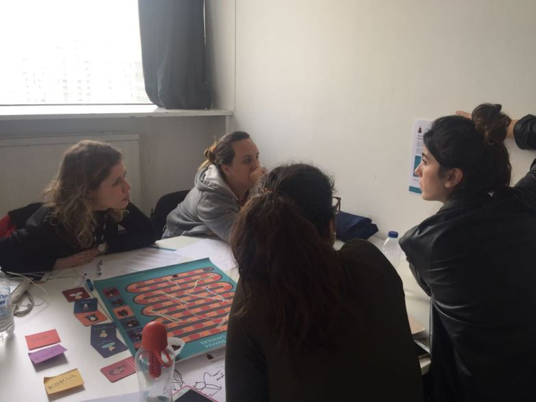 2018 London College of Communication - Corporate Snakes & Career Ladders session