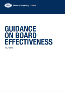 FRC Guidance on Board Effectiveness - cover