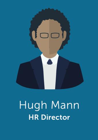 Hugh Mann - HR Director